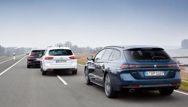 Opel Insignia Sports Tourer, Peugeot 508 SW y Renault Talisman Sport Tourer