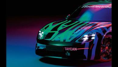 Porsche Taycan primeras imágenes oficiales