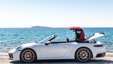 Así es el capota del nuevo Porsche 911 Cabrio