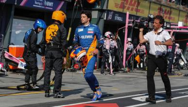 Abandono de Carlos Sainz en Australia