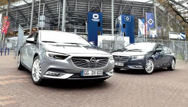 Comparativa Opel Insignia diésel-gasolina