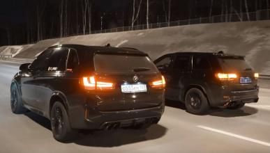 Jeep Grand Cherokee Trackhawk vs BMW X5 M