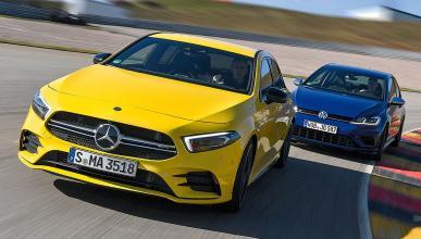 Mercedes AMG A 35 vs Volkswagen Golf
