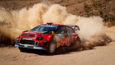 Ogier en el Rally de México