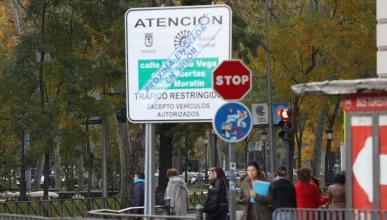 Acceso a  Madrid Central con coches sin pegatina: todo lo que debes saber