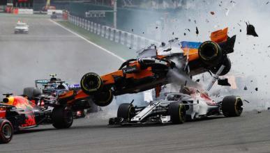 Los accidentes más espectaculares de la F1