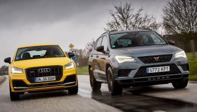 Cupra Ateca vs Audi SQ2