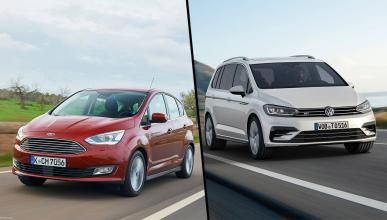 Ford C-Max vs Volkswagen Touran