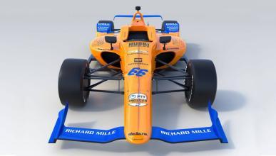 Presentado el McLaren para la Indy 500