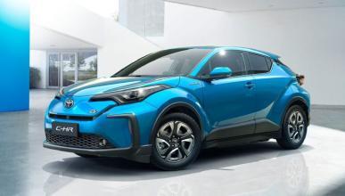 Toyota C-HR eléctrico