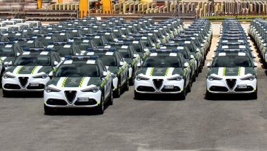 Alfa Romeo Stelvio coche de la Guardia Civil