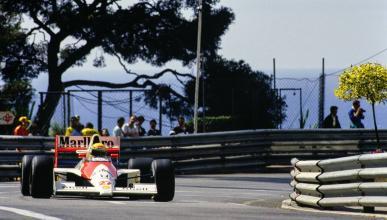 Ayrton Senna en Mónaco