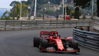Charles Leclerc en Mónaco