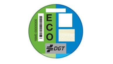 etiqueta eco dgt