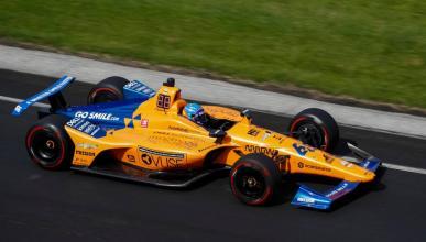 Fernando Alonso Indianapolis