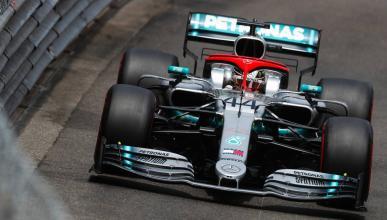 Hamilton consigue la pole en Mónaco