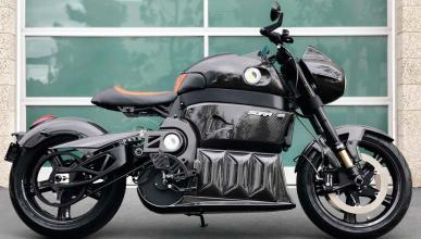 moto electrica lujo fibra de carbono