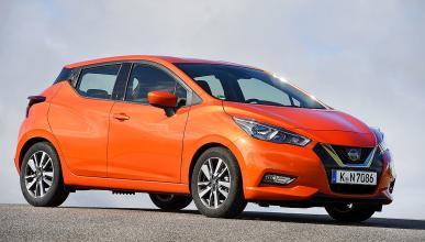 Nissan Micra vs Ford Fiesta, el Hyundai i20 y el Mini.