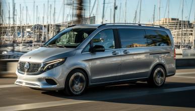 Prueba del Mercedes Concept EQV