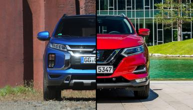 Mitsubishi ASX vs Nissan Qashqai
