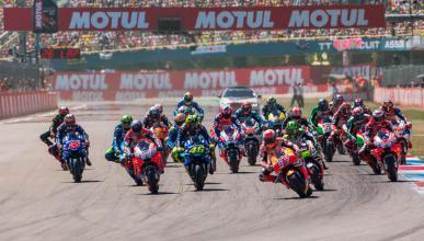 circuito carrera marquez rins viñales pilotos