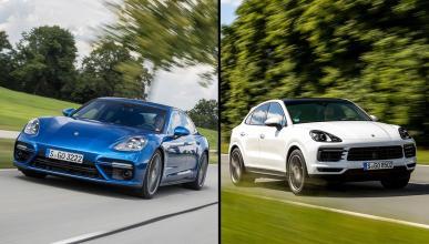 Porsche Panamera vs Porsche Cayenne Coupé