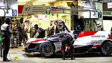 Susto de Toyota en Le Mans