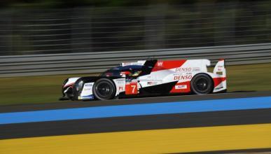Toyota pole en Le Mans