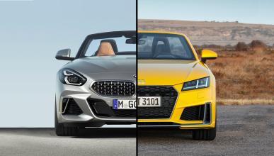Audi TT vs BMW Z4