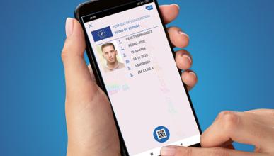 Carnet de conducir digital