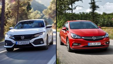 Honda Civic vs Opel Astra