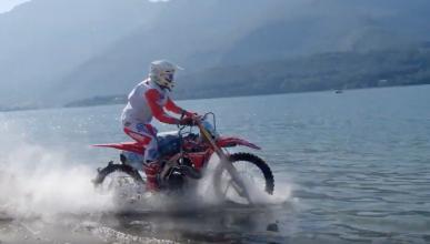 Luca Colombo lago como honda crf450R