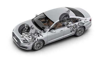 suspensión predictiva Audi