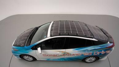 Toyota Prius con paneles solares