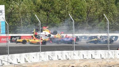 Accidente de la Indy en Pocono