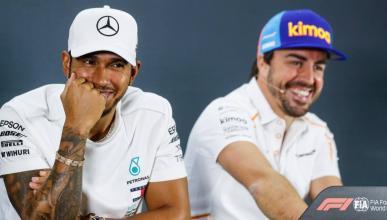 Resultado de imagen de Fernando Alonso Hamilton Vettel Verstappen Carlos SAINZ