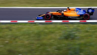 Carlos Sainz en el GP Hungria
