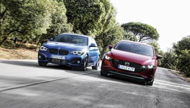 Comaparativa BMW 118i-Mazda3