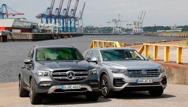 Comparativa: Mercedes GLE vs Volkswagen Touareg