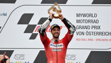 victoria triunfo podium red bull ring motogp