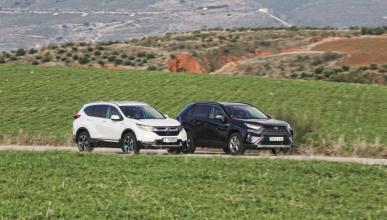 Honda CR-V Hybrid vs Toyota RAV4