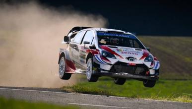 Ott Tanak en el Rally de Alemania