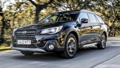 Prueba del Subaru Outback GLP Black Edition