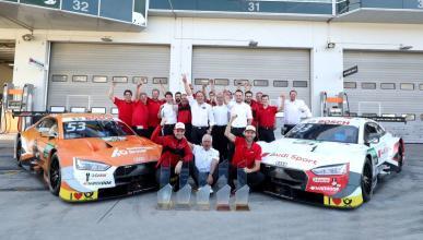 Audi gana el título del DTM