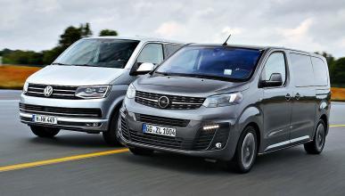 Comparativa: Opel Zafira Life vs Volkswagen T6 Multivan.