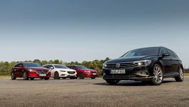 Comparativa del Volkswagen Passat 2019 Variant vs  Kia Optima Sportswagon, Opel Insignia Sports Tourer y Mazda6 Wagon
