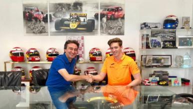 David Schumacher y Adrian Campos