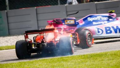 Error de Vettel en Italia