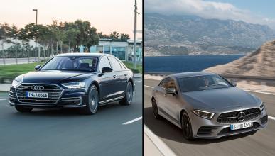 Mercedes CLS vs Audi A8