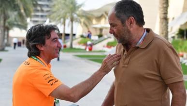 Adrián Campos y Gerhard Berger